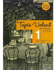 Tapis Volant 1 3rd edition Workbook with audio CDs and DVD
