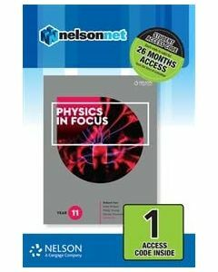 Physics in Focus Year 11 (1 Access Code)