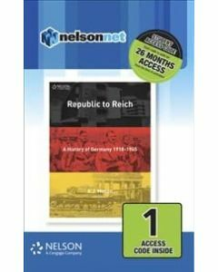 Republic to Reich: A History of Germany (Access Code)