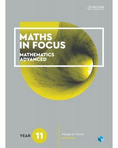 Maths in Focus Mathematics Advanced Year 11 Student Book with 1 Access Code