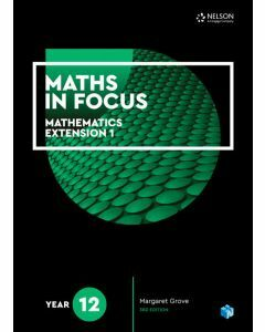 [Pre-order] Maths in Focus Extension 1 Year 12 Student Book with 1 Access Code [Due Aug 2019]