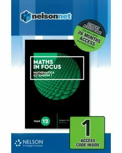 [Pre-order] Maths in Focus Extension 1 Year 12 (1 Access Code) [Due Aug 2019]