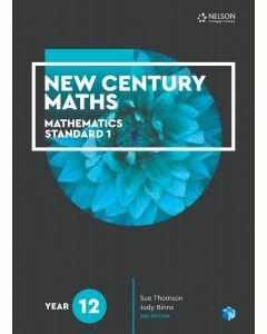 New Century Maths 12 Mathematics Standard 1 Student Book