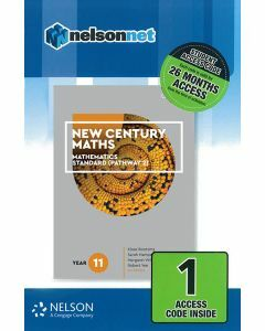 New Century Maths 11 Mathematics Standard 2 (1 Access Code)