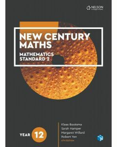New Century Maths 12 Mathematics Standard 2 Student Book with 4 Access Codes