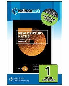 New Century Maths 12 Mathematics Standard 2 (1 Access Code)