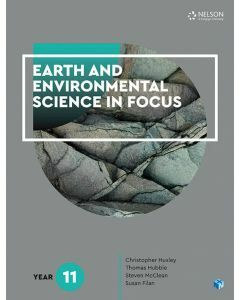 [Pre-order] Earth and Environmental Science in Focus Year 11 Student Book with 1 Access Code [Due Sep 2019]