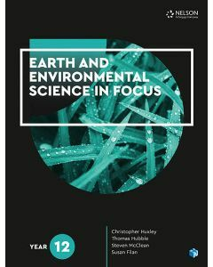 [Pre-order] Earth and Environmental Science in Focus Year 12 Student Book with 1 Access Code [Due Jul 2020]
