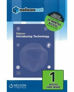 [Pre-order] Nelson Introducing Technology 4e Access Code [Due Nov 2019]
