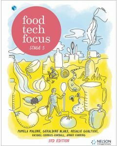 [Pre-order] Food Tech Focus Stage 5 3e Student Book with 1 Access Code [Due Dec 2019]