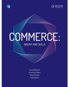 [Pre-order] Commerce: Inquiry & Skills Student Book with 1 Access Code [Due T4 2019]