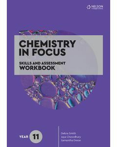[Pre-order] Chemistry in Focus Year 11 Skills & Assessment Workbook [Due Oct 2020]