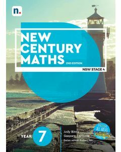 [Pre-order] New Century Maths 7 2e Student Book with 1 Access Code [Due T3 2020]