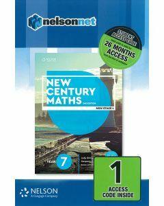 New Century Maths 7 2e Access Code (26-month)