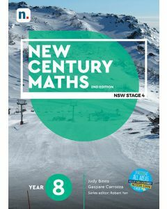 [Pre-order] New Century Maths 8 2e Student Book with 1 Access Code [Due 2021]