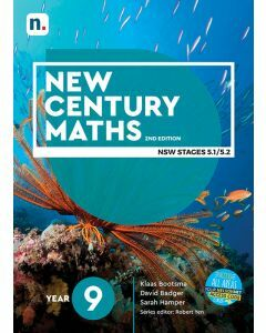 [Pre-order] New Century Maths 9 (5.2) 2e Student Book with 1 Access Code [Due T3 2020]