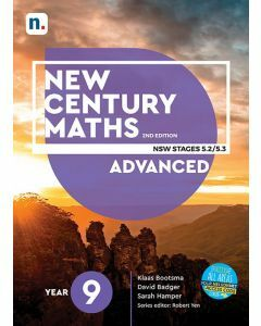 New Century Maths 9 Advanced 2e Student Book with 1 Access Code