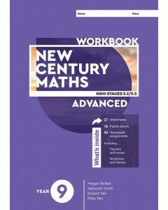 New Century Maths 9 Advanced Workbook