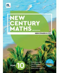 [Pre-order] New Century Maths 10 (5.2) 2e Student Book with 1 Access Code [Due 2021]