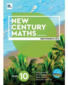[Pre-order] New Century Maths 10 (5.2) 2e Student Book with 1 Access Code [Due mid-2021]