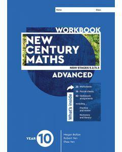 [Pre-order] New Century Maths 10 Advanced Workbook [Due mid-2021]