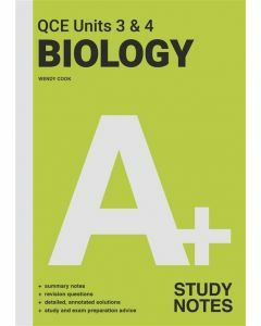 [Pre-order] A+ Biology QCE Units 3 & 4 Study Notes [Due late Sep 2021]