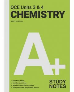 [Pre-order] A+ Chemistry QCE Units 3 & 4 Study Notes [Due late Sep 2021]