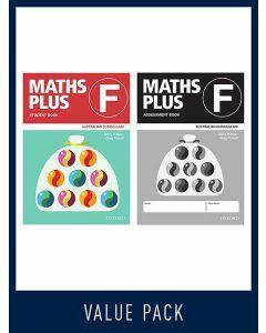 Maths Plus Australian Curriculum Student and Assessment Book F, 2020