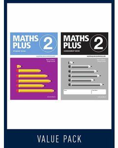 Maths Plus Australian Curriculum Student and Assessment Book 2, 2020