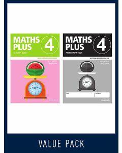 Maths Plus Australian Curriculum Student and Assessment Book 4, 2020