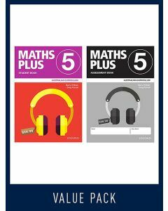Maths Plus Australian Curriculum Student and Assessment Book 5, 2020