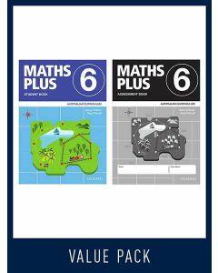 Maths Plus Australian Curriculum Student and Assessment Book 6, 2020