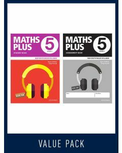 Maths Plus NSW Student and Assessment Book Year 5 Value Pack, 2020