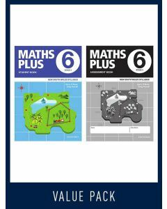 Maths Plus NSW Student and Assessment Book Year 6 Value Pack, 2020