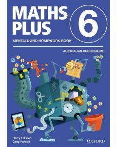Maths Plus AC Edition Mentals & Homework 6