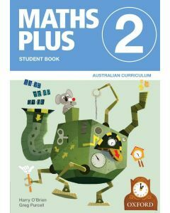 Maths Plus AC Ed Student and Assessment Book 2 Value Pack