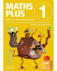 Maths Plus AC Edition Mentals & Homework 1
