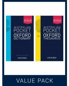 Australian Pocket Oxford Dictionary 7E + Australian Pocket Oxford Thesaurus Pack