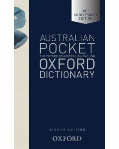 Australian Pocket Oxford Dictionary (8th Edition)