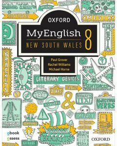Oxford MyEnglish 8 NSW Student Book + obook assess