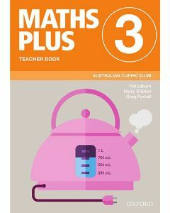 Maths Plus Australian Curriculum Teacher Book 3, 2020