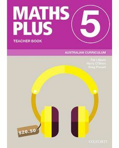 Maths Plus Australian Curriculum Teacher Book 5, 2020