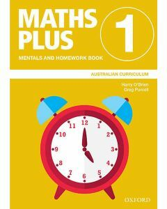 Maths Plus Australian Curriculum Mentals and Homework Book 1, 2020