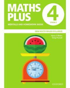 Maths Plus NSW Mentals and Homework Book 4, 2020