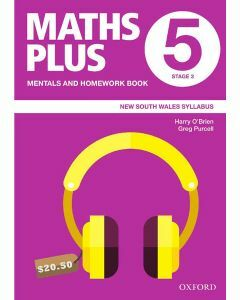 Maths Plus NSW Mentals and Homework Book 5, 2020