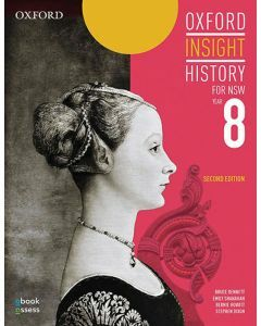 Oxford Insight History for NSW (2E) Year 8 Student Book + obook assess
