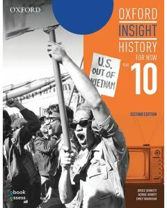 [Pre-order] Oxford Insight History for NSW (2E) Year 10 Student Book + obook assess [Due Dec 2020]