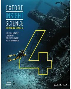 Oxford Insight Science for NSW Stage 4 (2E) Student book + obook assess