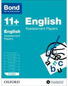 Bond 11+: English Assessment Papers for 5 to 6 years