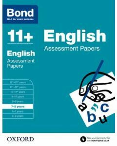 Bond 11+: English Assessment Papers for 7 to 8 years